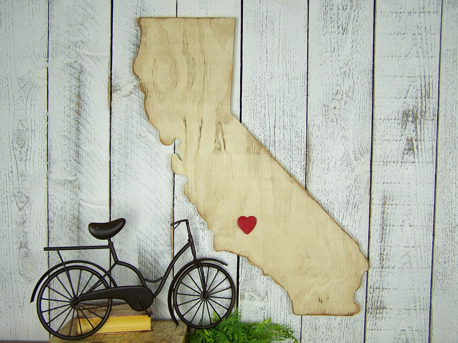 California Wall Art California State Art Wood State Cut Out