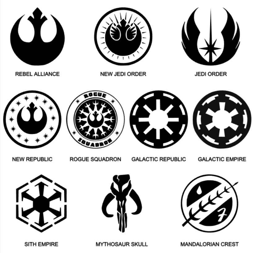 List Of Synonyms And Antonyms Of The Word Mandalorian Symbol