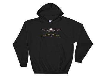 Airplane Sweater, Airplane Hoodie, Airplane Gifts, Airplane Gifts For Him, Airplane Clothing, Pilot Hoodie, Pilot Gifts, Aviation Sweatshirt