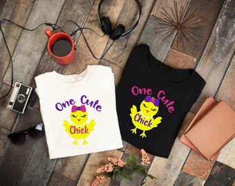 One Cute Chick Easter Shirts!!!!!