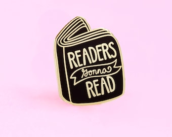 Book Pin, Book Enamel Pin, Pin Game, Bookish Pin, Literary Pin, Literary Gifts, Lapel Pin, Books, Book Pin, Reader