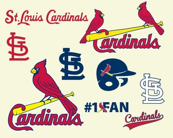 St Louis Cardinals Cut Files, SVG Files, Baseball Clipart, Cricut contains dxf, eps, svg, jpg, png and pdf files.  Instant Download