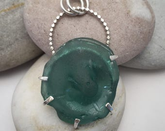 Sea Glass Jewelry, Sea Glass Necklace, Sea Glass Pendant, Seaglass Jewelry, Seaglass Necklace, Seaglass Pendant