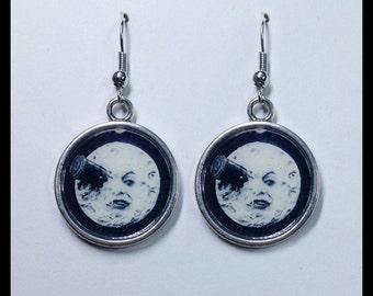 Moon earrings Le Voyage Dans Le Lune