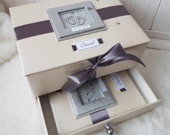 Baby memory box, Baby shower box, Baby keepsake box, Baby gift, Baby book, Personalized baby box, Children's box, Мамины сокровища
