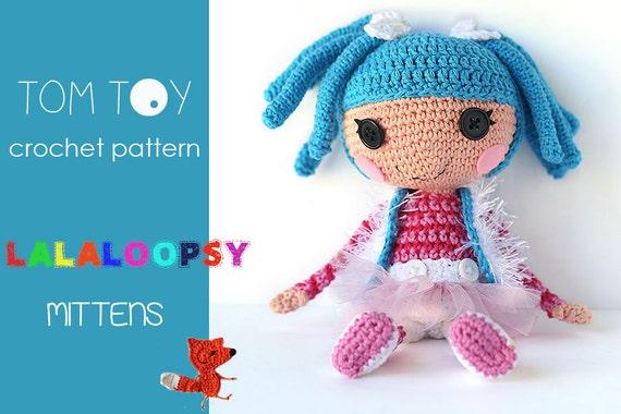 Amigurumi Doll Lalaloopsy Pattern : Lalaloopsy mittens crochet pattern amigurumi doll lalaloopsy