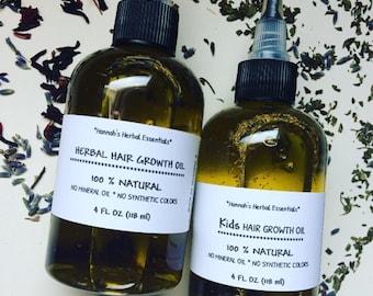 Hair Oil - Hair Growth Oil - Herbal Hair Growth Oil - Hair Serum - Healthy Scalp - Herbal Infused