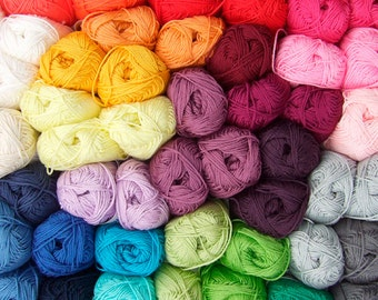 50 g Catania by Schachenmayr, 100% Cotton, all colors in stock