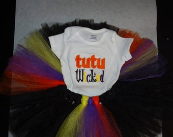 Tutu Wicked Baby Tutu Costume 3-9 Month