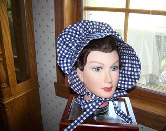 Ladies Adult Bonnet Costume pdf Pattern with Immediate Download e-file