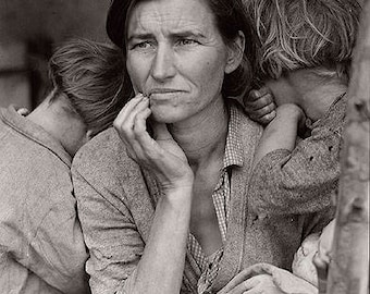Migrant Mother - Dorothea Lang 1936 Photo