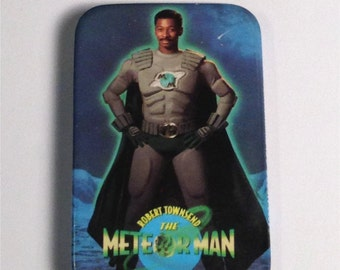 Meteorman Pinback Button Souvenir