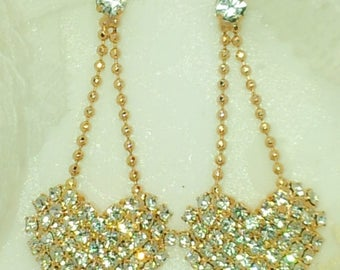 special HEART EARRING 925siver