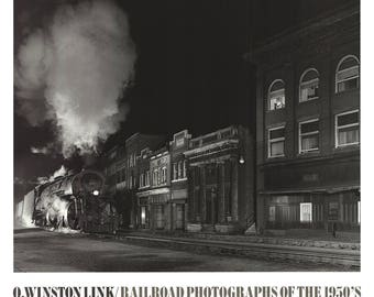 O. Winston Link-Mainline on Mainstreet-1988 Poster