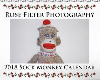 2018 Sock Monkey Calendar ON SALE!!!