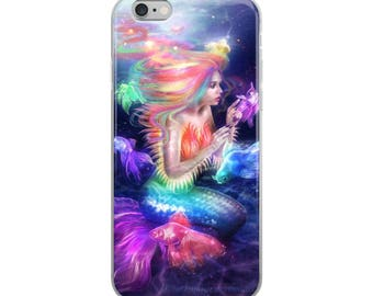 iPhone colorful mermaid Case