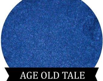 Blue Eyeshadow Pigment  AGE OLD TALE