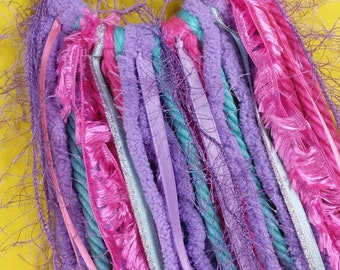 Green, pink and purple Small Dreamcatcher