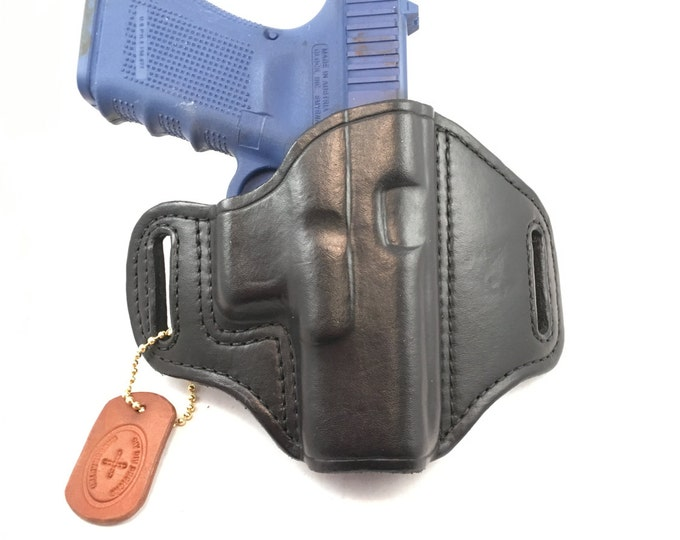 Glock 19 / 23 (zero cant) - Handcrafted Leather Pistol Holster