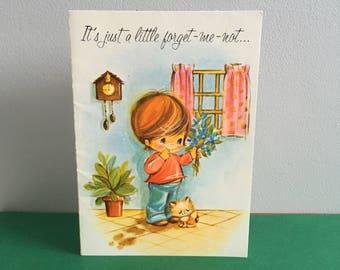Vintage Easter card, unused.