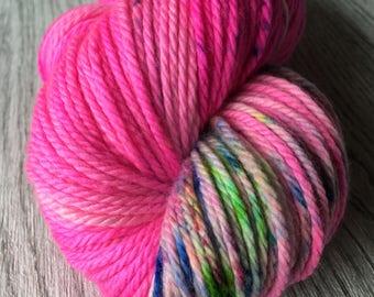 Aran knitting yarn. Aran, worsted. Merino 100gr/166m. ndl 4-5mm.