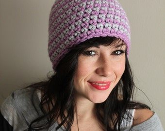 Crocheted Stripped Hat