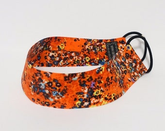 Rainbow Flower Floral Print Elastic Fashion Headband for Women