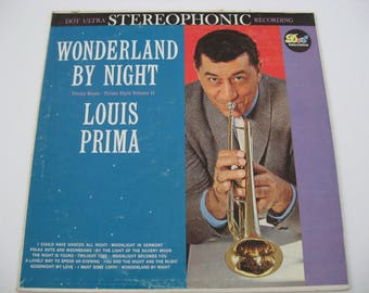 Louis Prima - Wonderland By Night - Circa 1960