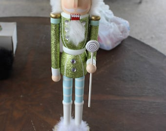 Decorative Christmas nutcracker figures