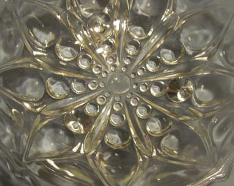 Bubble 3 Footed Glass Dish