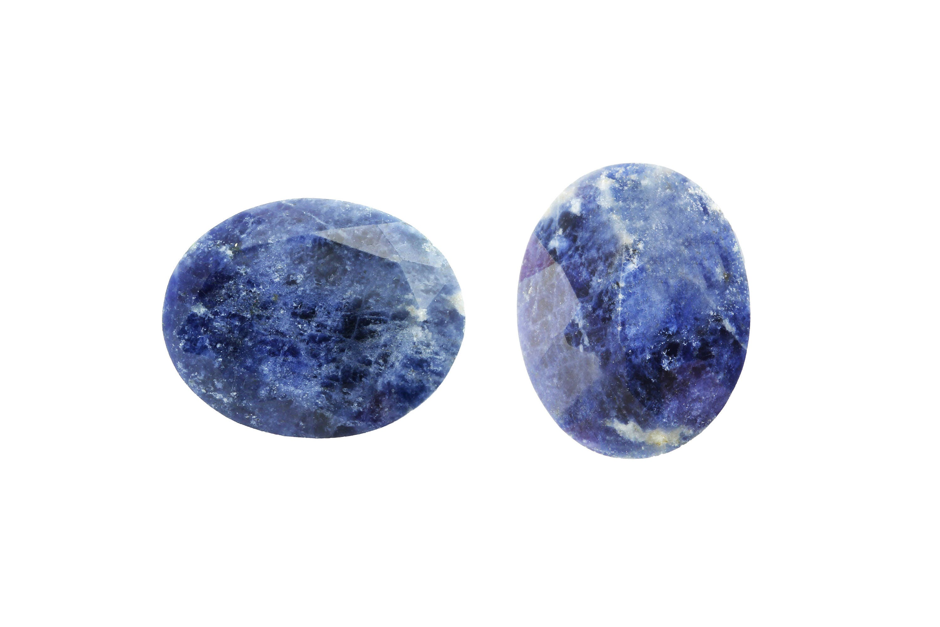loose sapphires raw il cabochon fullxfull natural slice blue rose gemstone sapphire cut navy listing