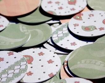 Paper garland - circle garland - bird theme
