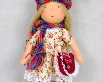 Deposit for a custom Waldorf, Steiner doll, hand made