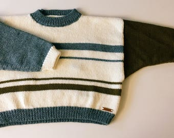 Cropped jumper-80 's Style