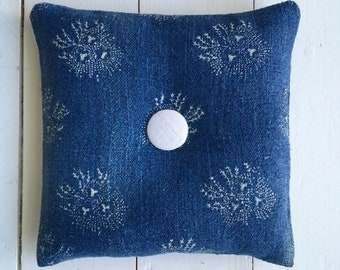 Indigo Linen Lavender Bags  Sachets Hand Made Drawer WardrobeHungarian Natural Lavender Linen