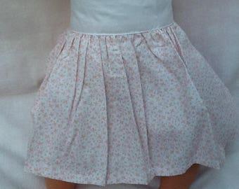 Clothing, skirt flower doll 36 cm