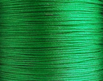Nylon thread 0,8mm green 10m