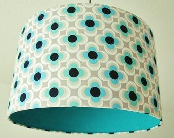 Retro Turquoise Lampshade