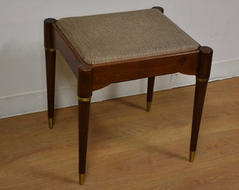 Walnut Stool or Bench