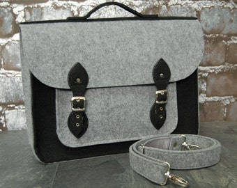 "Felt laptop bag 13"", satchel, case, sleeve Macbook Air 13"", Macbook Pro Retina 13"", Shoulder bag, Casual bag"