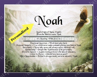 Eagle Soaring Name Meaning Origin Print Name Personalized Certificate 8.5 x 11 Custom Name Canyon Mountain Valley Rocks Trees Nature Outdoor