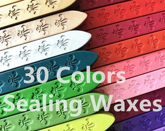 30 Color choose sealing wax   wax sticks for wax seal stamp invitation seal enveliope seal gift seal/red/gold/brass