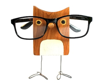 Owl Eyeglass Stand - Glasses Holder An Adorable Gift For Owl Lovers