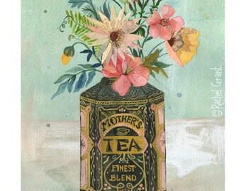 Mother's Tea Print