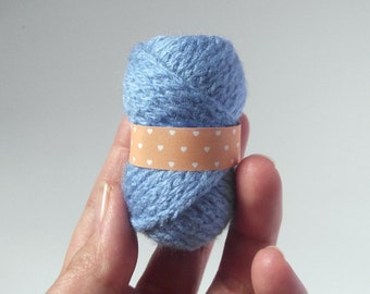 Fake skein of yarn amigurumi pattern PDF