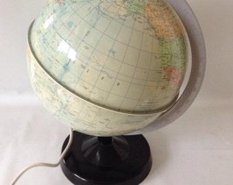 DDR Globus, Räths Globe 80s, illuminated globe