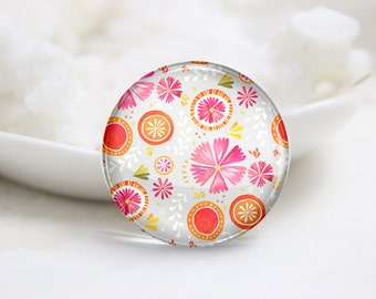 10mm 12mm 14mm 16mm 18mm 20mm 25mm 30mm Handmade Round Photo Glass Cabochons Cover (P1334)