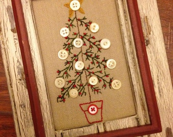 O Christmas Tree Stitchery Kit