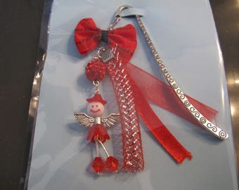 Red fairy bookmark
