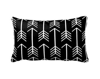 Black Throw Pillow Decorative Pillow Cover Black Accent Pillow Black Pillow Cover Black Decor Lumbar Pillow Euro Pillow
